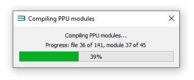 rpcs2 compilando ppu