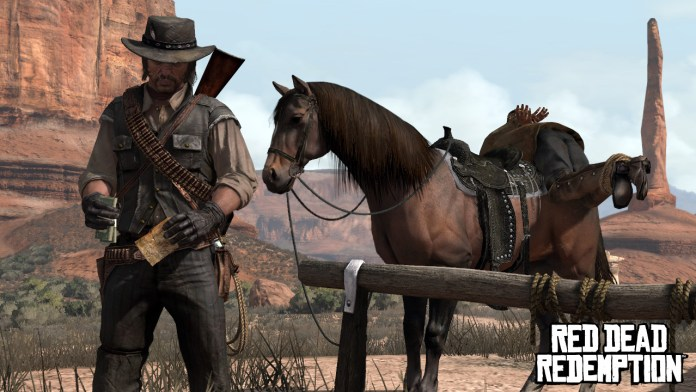 red dead redemption cavalo