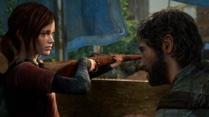 joel e ellie the last of us playstation 3