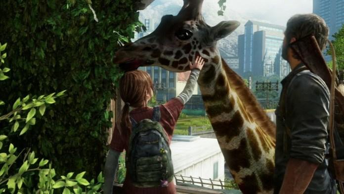 last of us cena girafa