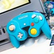 GameCube Emerald Blue Controle (Pikmin 2 SE)