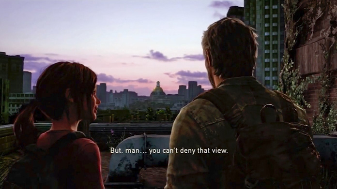 you cant deny that view last of us