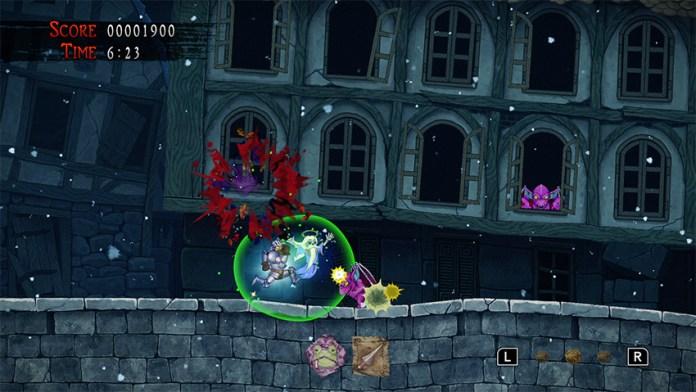 ghosts n goblins ressurrection modo co-op