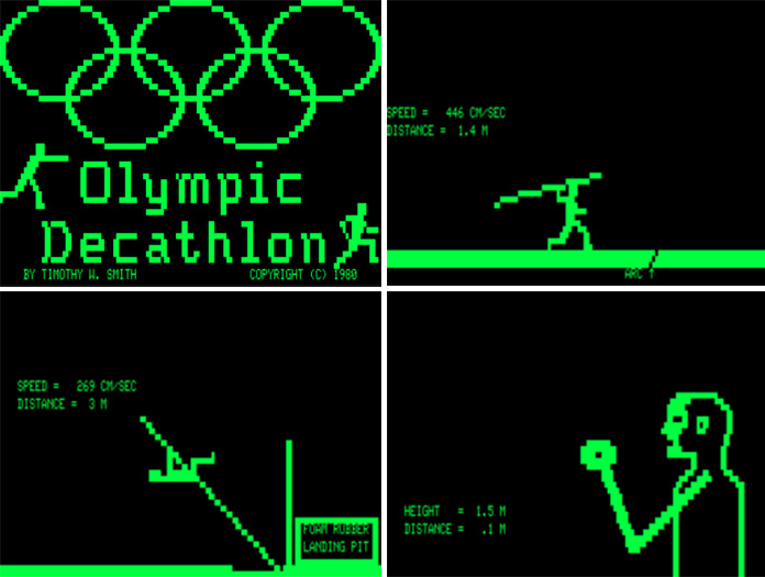 olympic decatlhon game 1980 trs