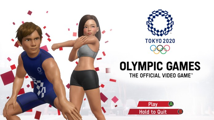 olympic games tokyo 2020 the official video game tela titulo