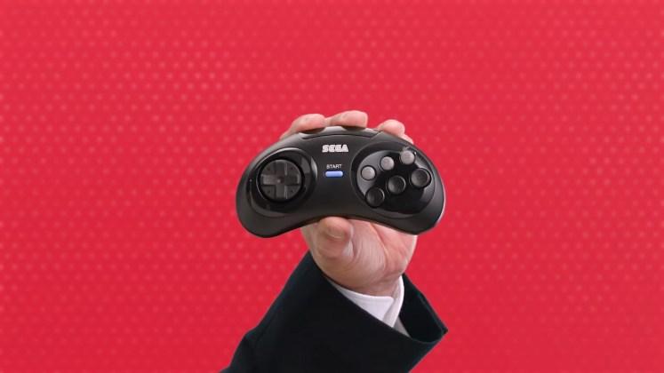 controle Mega Drive 6B wireless Switch