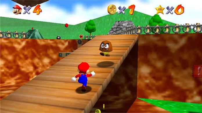 cena de Super Mario 64