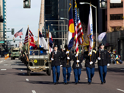Denver Veterans Day Parade