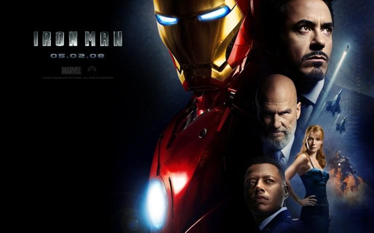 【アイアンマン】男なら必ず憧れるおすすめヒーロー映画