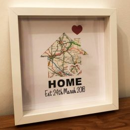 IMG 0172 - Personalised New Home House Frame