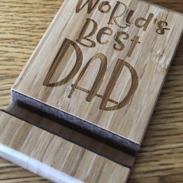 C563F3D1 212C 4B99 8ED6 04B5474E736D - Worlds Best Dad Phone / Tablet Stand