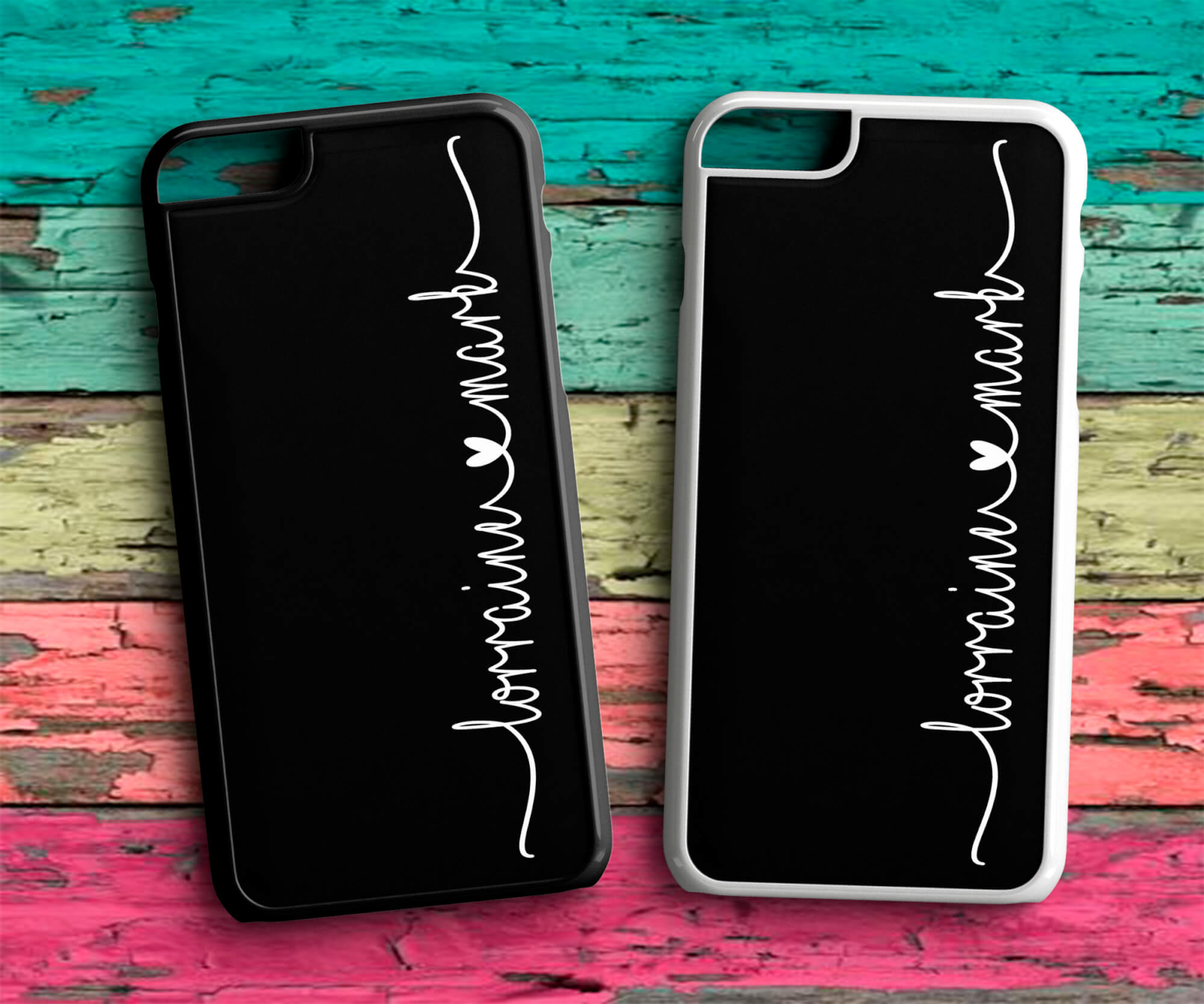 quality design 09737 a75e8 Personalised Couple Name Love Phone Case