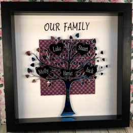 Personalised Mirror Tree Our Family Frame e1538582631662 - Personalised Mirror Tree Our Family Frame
