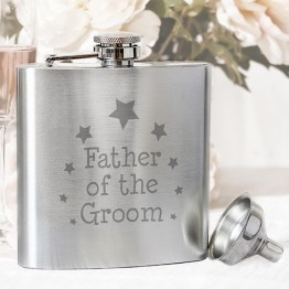 NP0102E15 1 - Groom Hip Flask