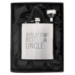 NP0102E24 1 - Worlds Best Uncle Hip Flask