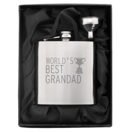 NP0102E26 1 - Worlds Best Grandad Hip Flask