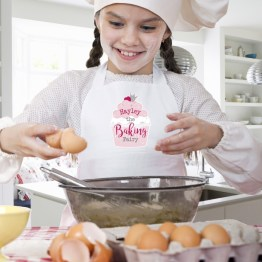P0510G86 2 - Personalised Baking Fairy Children's Apron