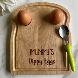 Mummys Dippy Eggs Apollo Egg Toast Board - MUMMY'S Dippy Egg - Eggs Breakfast Board