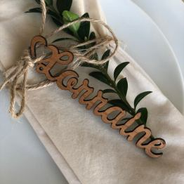 Place Name Setting with Heart