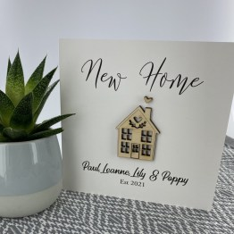 IMG 4461 - Personalised New Home Card