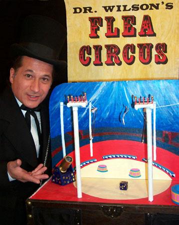 Dr. Wilson's flea circus