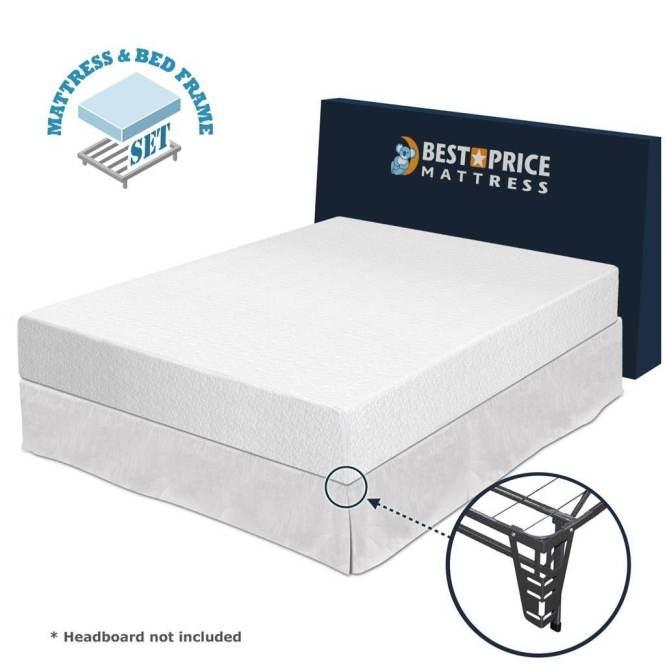 Best Price Mattress 10 Inch Memory Foam Review