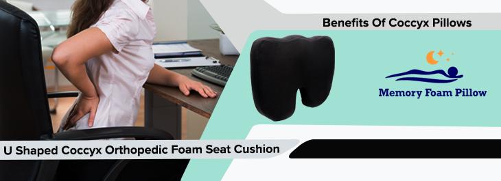 u shaped coccyx orthopedic foam seat