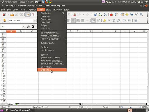 Fix OpenOffice org Calc Row(s) / Column(s) Repeat Printing