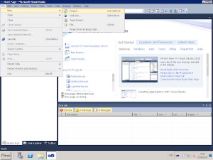 Create a Windows Service with Visual Studio