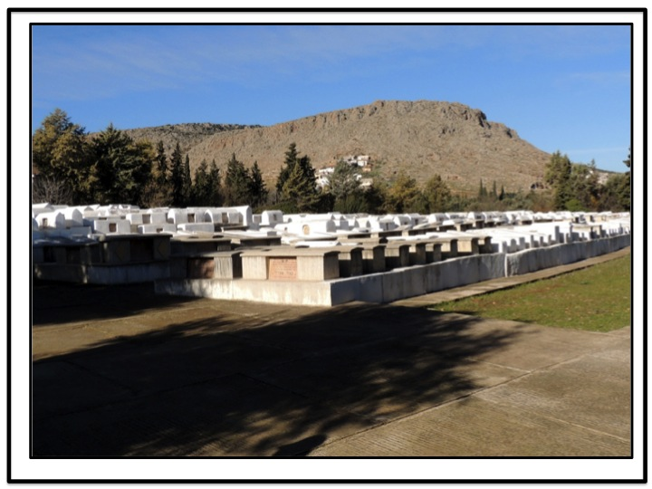 This is the view of the cemetery as you enter the Sefrou Jewish Cemetery.