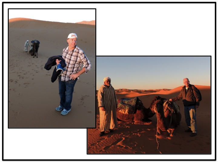 We finally arrived at the place where we dismounted, and would leave our camels for the evening.