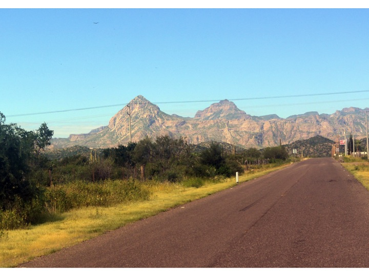 We headed west into the Sierra de la Giganta Moubtains immediately after leaving Loreto.