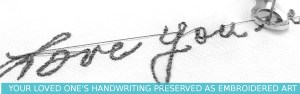 Shop for an actual handwriting grief gift