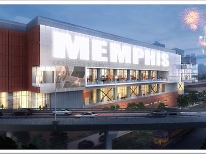 <p><strong>The renovated Memphis Cook Convention Center will cost $175 million including a new western concourse with a view of the Mississippi River and the riverfront, Memphis Mayor Jim Strickland announced Friday.</strong> (source: City of Memphis)</p>
