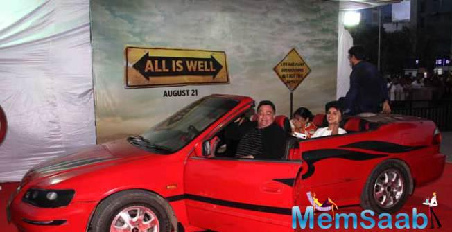 All Is Well Movie Trailer Launch In Mumbai