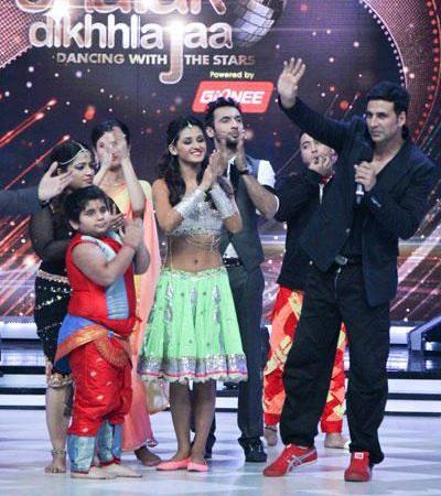 Akshay Kumar Promotes Entertainment On Jhalak Dikhhla Jaa 7