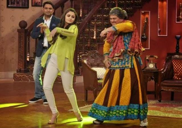 Alia Bhatt And Randeep Hooda On The Sets Of Comedy Nights With Kapil