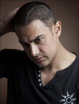 Aamir's Hair Following…