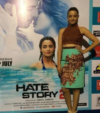 Surveen,Jay And Sushant Promote Hate Story 2 In Bangalore