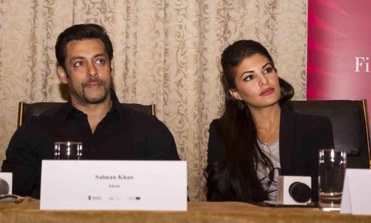 Salman Khan,Jacqueline Fernandez and Randeep Hooda At Kick Press Conference