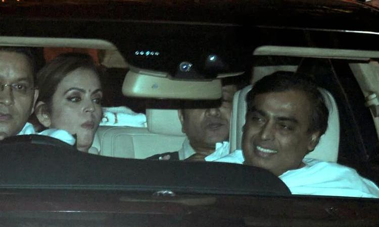 Celebs At Kokilaben Ambani's Birthday Bash