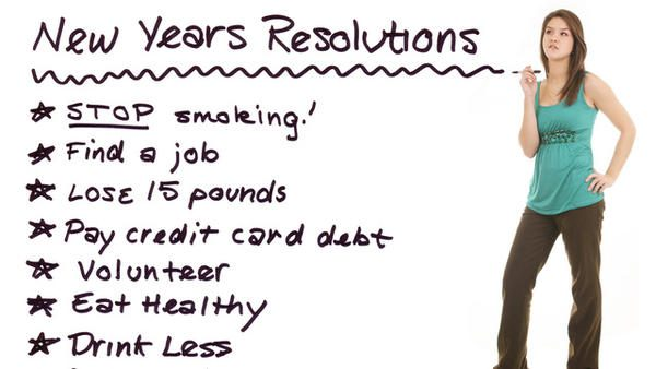 Say No To These New Year Resolutions!