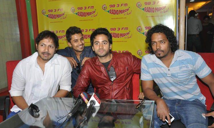 Intinta Annamayya Team At Radio Mirchi