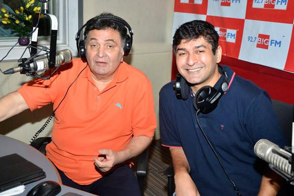 Rishi Kapoor Celebrates Birthday With 92.7 Big FM