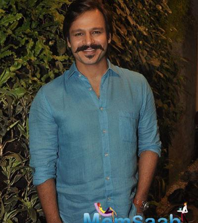 Bollywood Star Vivek Oberoi Gives Interview For Blood Donation Drive