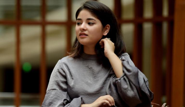 Zaira Wasim Set to Work With Priyanka and Farhan