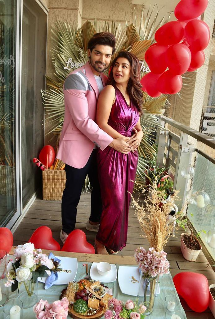Gurmeet Choudhary and Debolina Banerjee celebrates Valentine's Day 2021