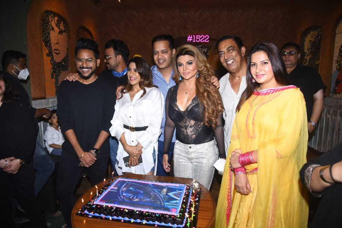 Rakhi sawant get together party after Bigg boss season 8