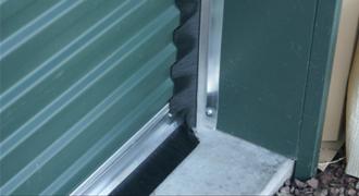 Rolling Steel Curtain Door Brush Seals Memtech Brush