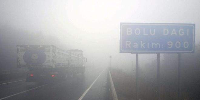 Bolu Dağı'nda yoğun sis ile ilgili görsel sonucu